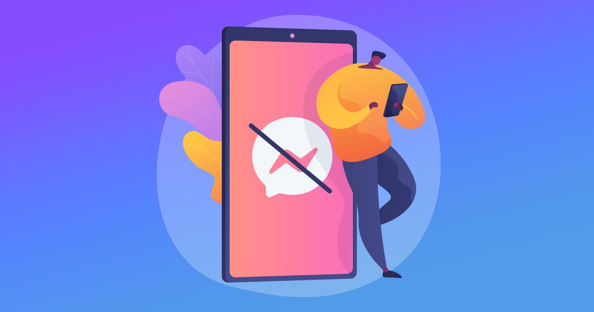 Hogyan küldjön üzenetet egy olyan személynek, aki letiltotta Önt Facebookon?